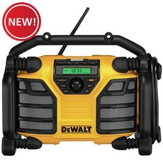 New! Max Worksite Charger Radio 12V/20V