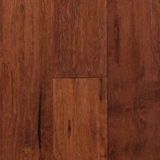 Chestnut Hickory Hand Scraped Engineered Hardwood