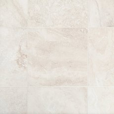 Cascade White Premium Honed Travertine Tile