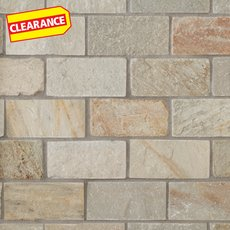 Clearance! Andes Brick Slate Mosaic