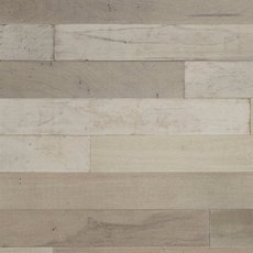 Distressed White Wall Plank