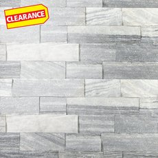Clearance! Regent Gray Splitface Marble Panel Ledger