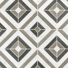 Prismatic Carrara Blend Marble Mosaic