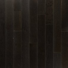 Midnight Mist Hickory Wire Brushed Solid Hardwood
