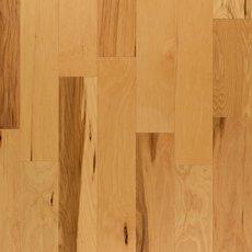 Hickory Natural Wire-Brushed Engineered Hardwood
