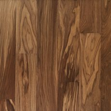 Light Brown Walnut Wire Brushed Water-Resistant Engineered Hardwood