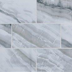 Onyx Frost Polished Ceramic Tile
