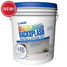 New! Backsplash Installation Kit