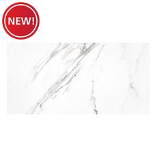 New! Crescendo White Porcelain Tile