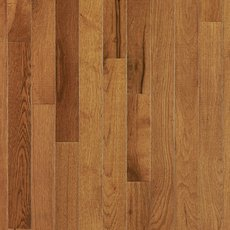Smoky Topaz Hickory Smooth Solid Hardwood