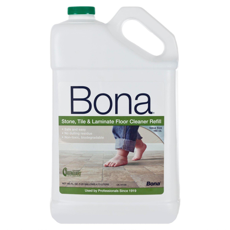 Bona stone tile and laminate floor polish