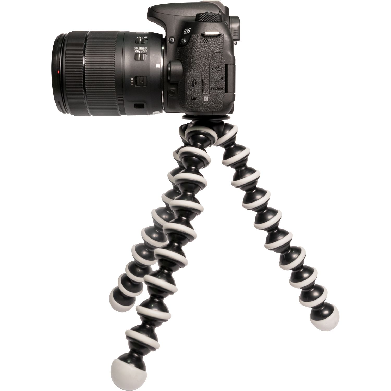 Buy Joby Gorillapod Slr Zoom Tripod Grey Canon Uk Store Gorila Pod M Magnify Image