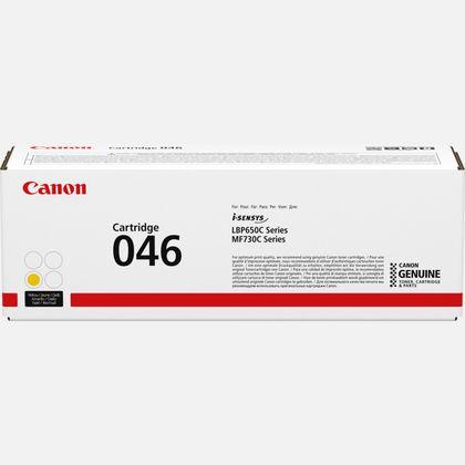 Cartouche de toner jaune Canon 046Y