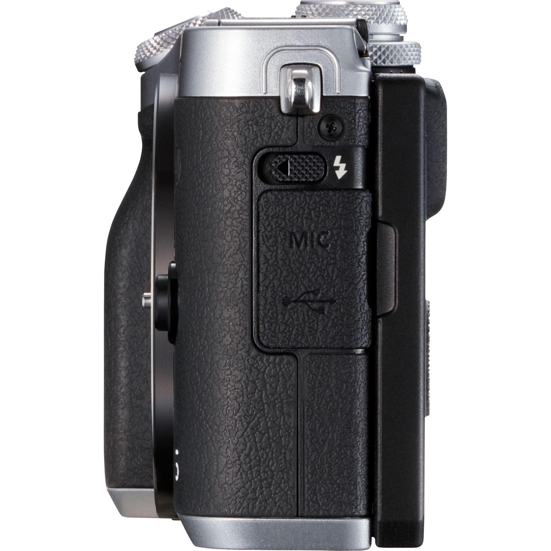 canon eos m6 bo tier argent dans appareils photo wifi canon france boutique. Black Bedroom Furniture Sets. Home Design Ideas