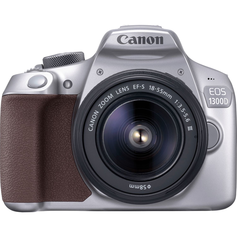 buy canon eos 1300d metallic grey 18 55mm iii lens in. Black Bedroom Furniture Sets. Home Design Ideas