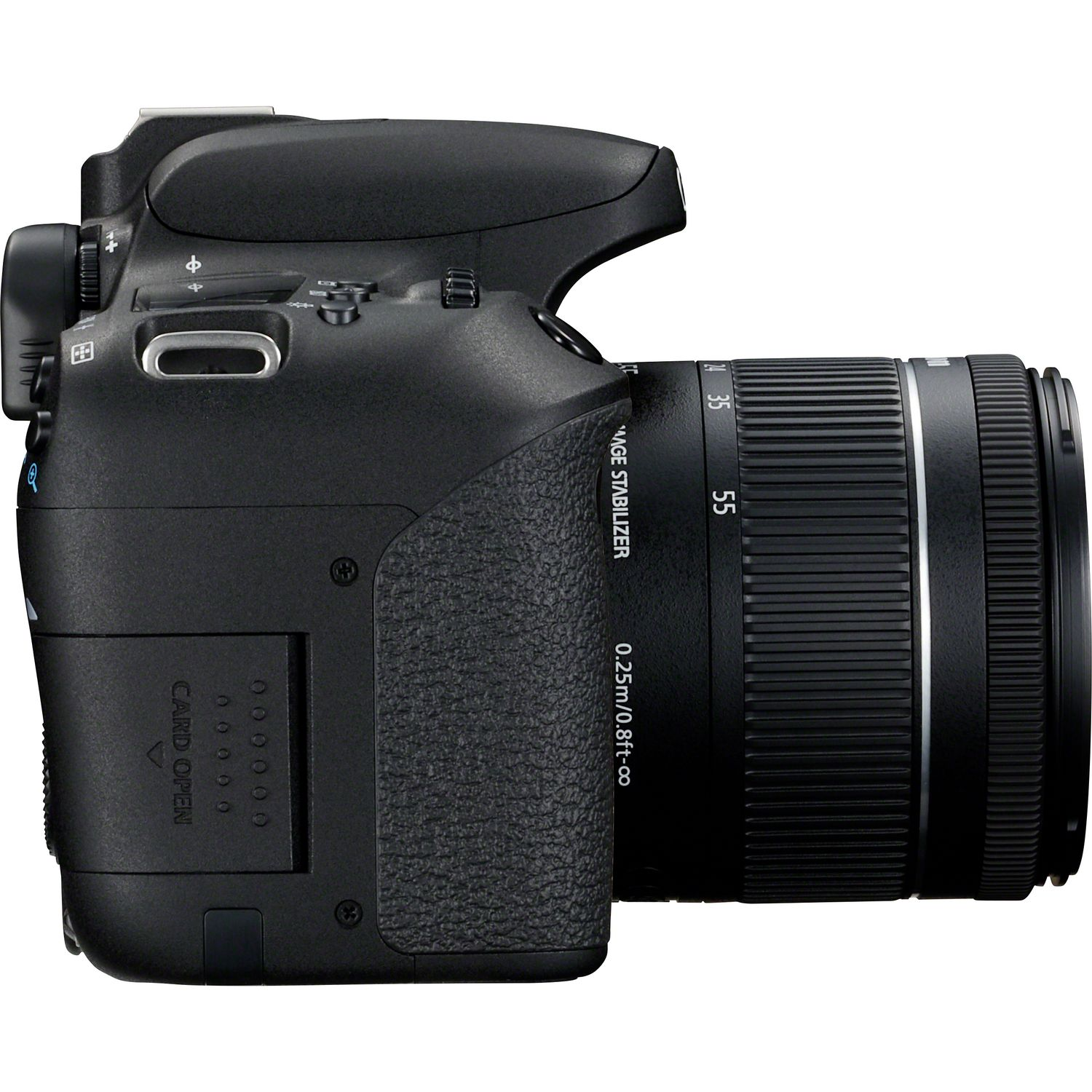 Buy Canon EOS 77D + 18-55 IS STM Lens in Wi-Fi Cameras