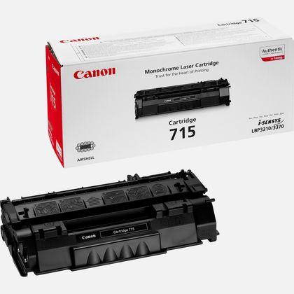 Cartouche toner noir Canon 715