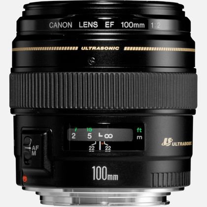 Objectif Canon EF 100mm f/2 USM