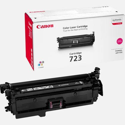 Cartouche toner magenta Canon 723M