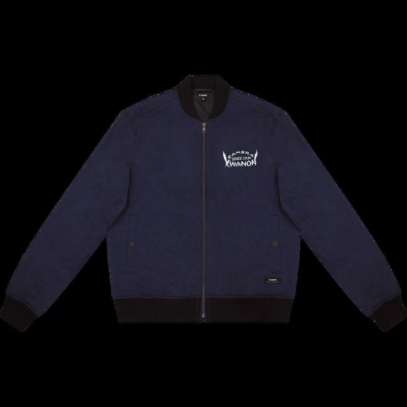da33a2c8bafc Logo D aviateur Homme Veste Vintage Pour Bleu Canon Marine Avec dI1KSgwq