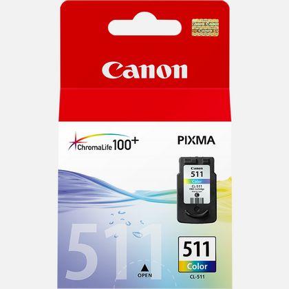 Cartouche d'encre couleur Canon CL-511 C/M/Y