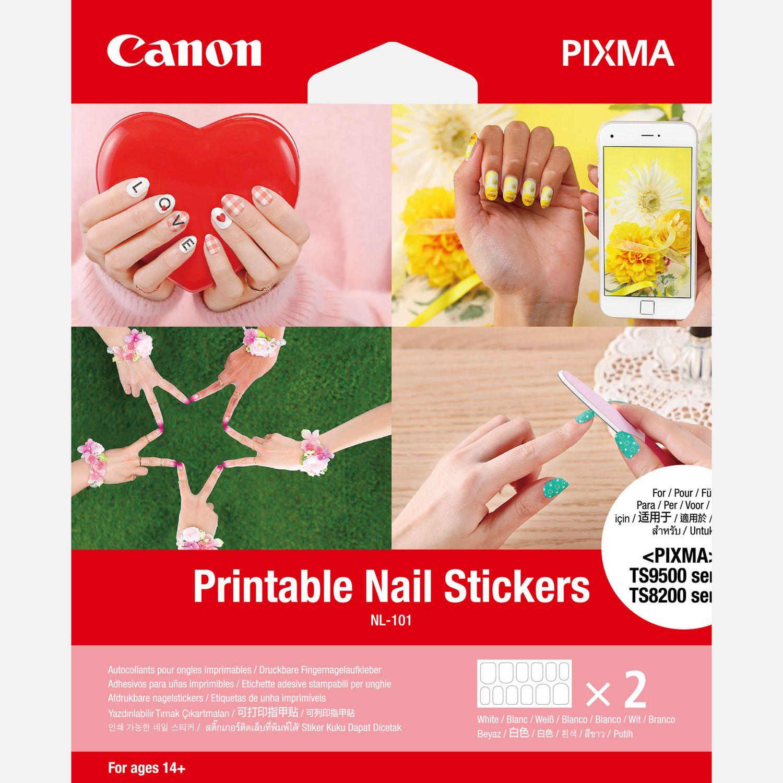 Canon Bedruckbare Fingernagel Sticker Nl 101 24 Sticker In
