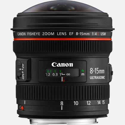 Objectif Canon EF 8-15mm f/4L Fisheye USM