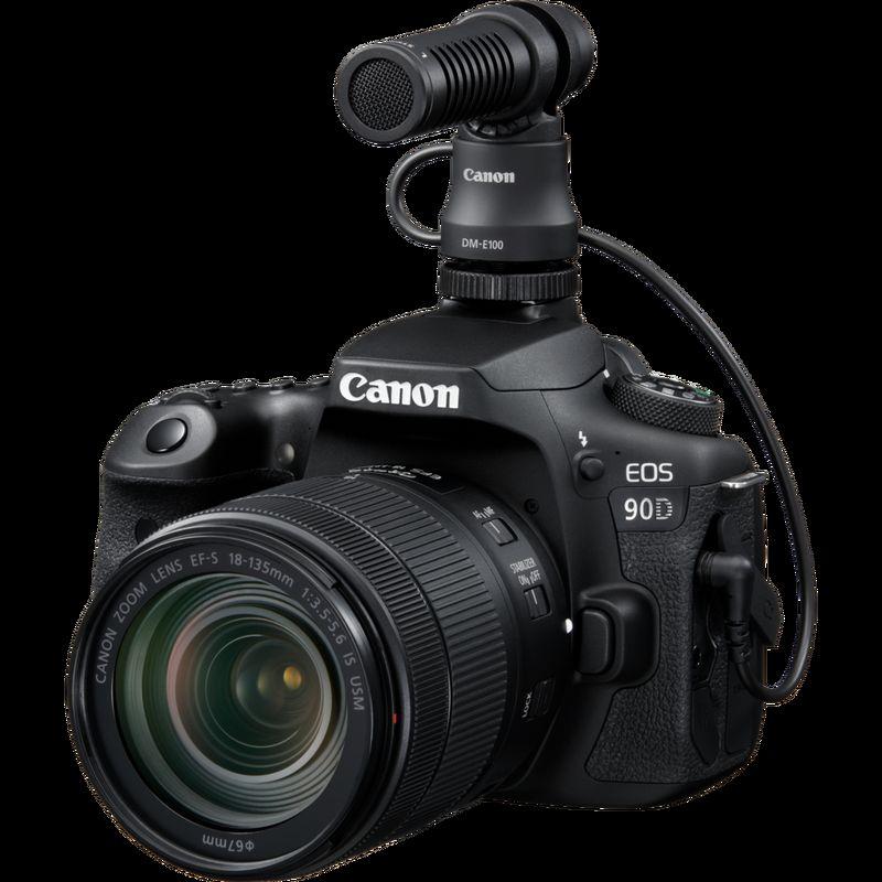 Canon DM E100 stereomikrofon Canon Norge