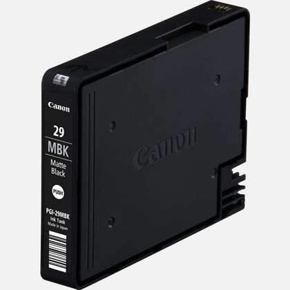 Cartouche d'encre noire mate Canon PGI-29MBK