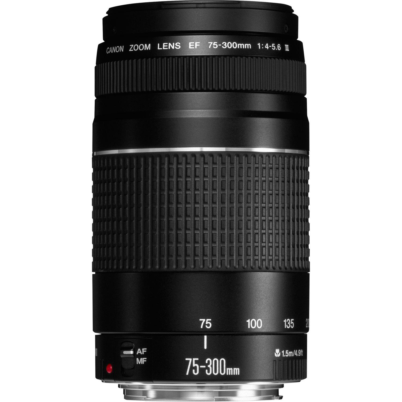 Compra Objetivo Canon EF 75-300 mm f/4-5,6 III — Canon Spain Store