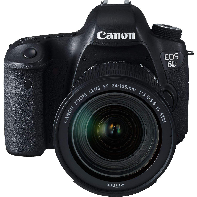 canon eos 6d ef 24 105mm is stm in fotocamere wifi. Black Bedroom Furniture Sets. Home Design Ideas