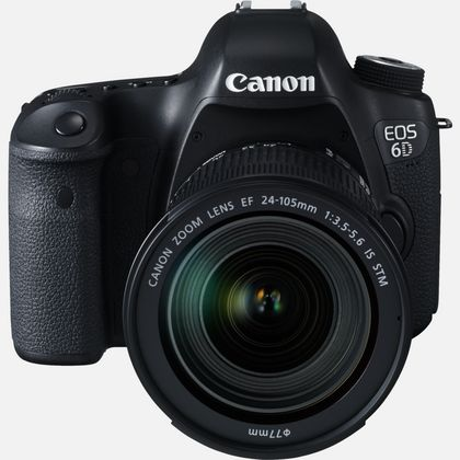 Canon EOS 6D + objectif EF 24-105mm IS STM