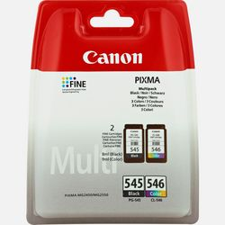 Immagine di Cartucce d'inchiostro Multipack Canon PG-545 BK / Cl-546 C/M/Y