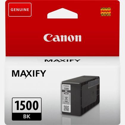 Cartouche d'encre noire Canon PGI-1500BK