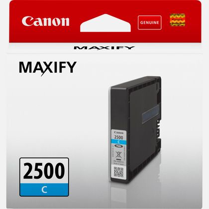 Cartouche d'encre cyan Canon PGI-2500C