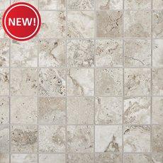 New! Tarsus Gray Polished Porcelain Mosaic