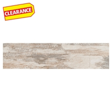 Clearance! Canyon Timber Wood Plank Porcelain Tile