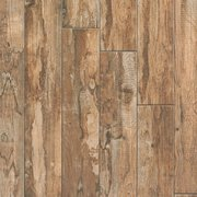 Salvage Brown Wood Plank Porcelain Tile