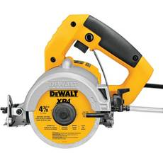 Dewalt Wet and Dry Handheld Masonry Tile Saw