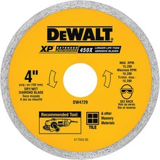 Dewalt XP Tile and Ceramic Blade