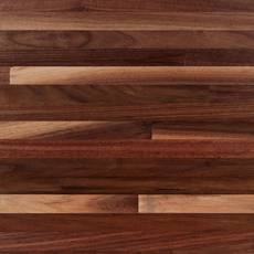 American Walnut Butcher Block Backsplash 12ft.