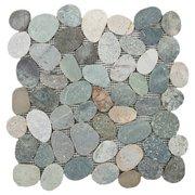 Kayan River Pebble Mosaic