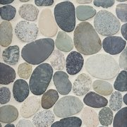 Kayan River Pebble Mosaic