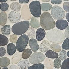 Kayan River Pebblestone Mosaic