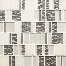 Parana Light Pattern Polished Glass Mosaic