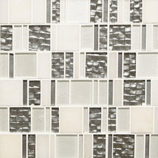 Parana Light Pattern Polished Glass Mosaic