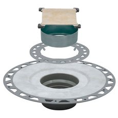 Schluter-Kerdi-Drain Kit PVC 2in. Tileable Grate