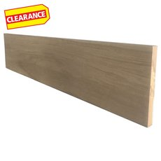 Clearance! Primed Oak Reversible Stair Riser - 36 in.