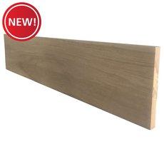 New! Primed Oak Reversible Stair Riser - 36 in.