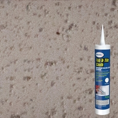 Bostik Misty Gray Tub and Tile Sanded Caulk